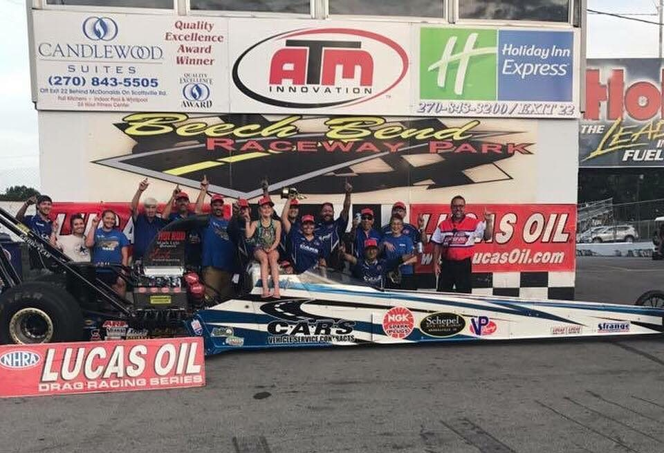 Mia Tedesco Picks up The Victory/ NHRA Lucas Oil Drag Racing Series North Central Division