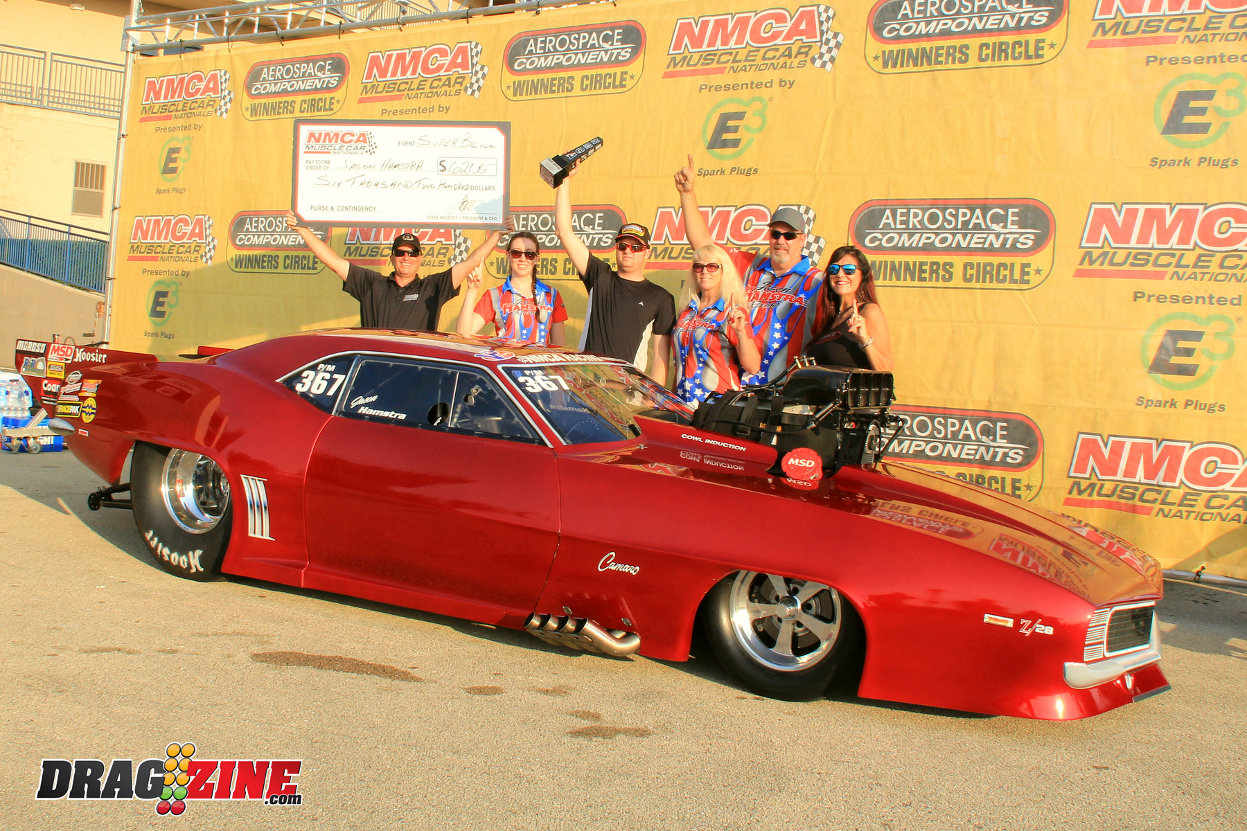 Hamstra Takes No Chances/ 13th Annual Nitto NMRA/NMCA Super Bowl Of Street Legal Drag Racing/ Route 66 Raceway